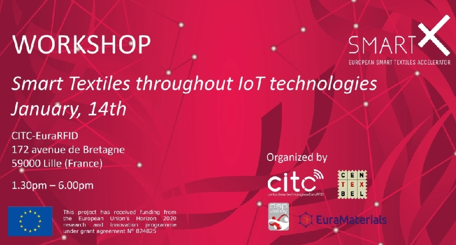 "Cluster-Têxtil-""Smart textiles: What opportunities for IoT?"" Workshop"
