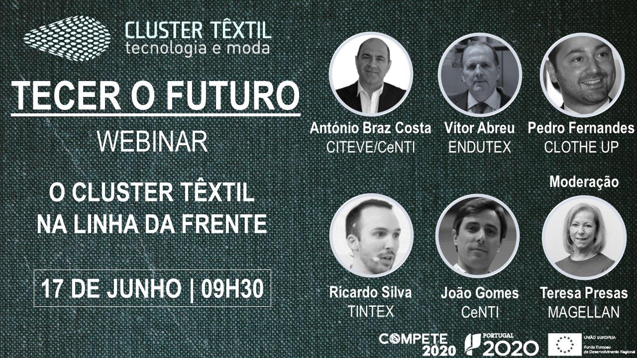 Cluster-Têxtil-TECER O FUTURO: O CLUSTER TÊXTIL NA LINHA DA FRENTE